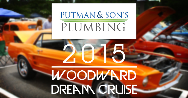 Putman and Sons Plumbing Woodward Dream Cruise 2015