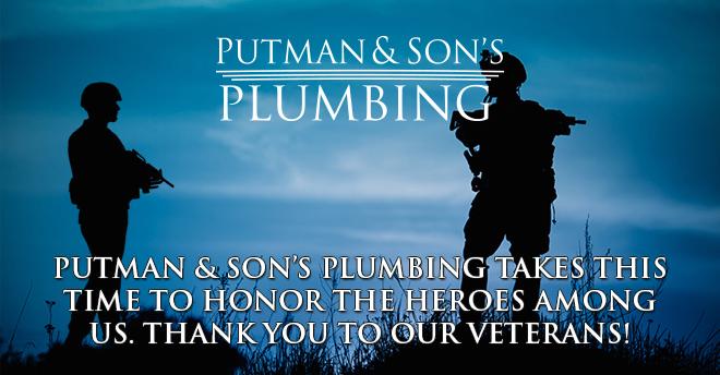 Putman & Sons Plumbing-Veterans Day 2015