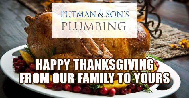 putman and sons plumbing thanksgiving 2016