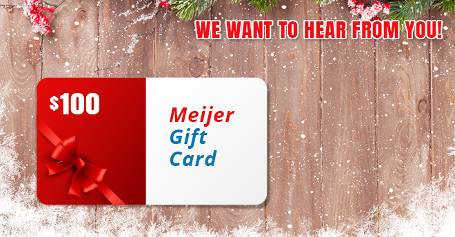Putman and Sons Plumbing Meijer Gift Card Contest