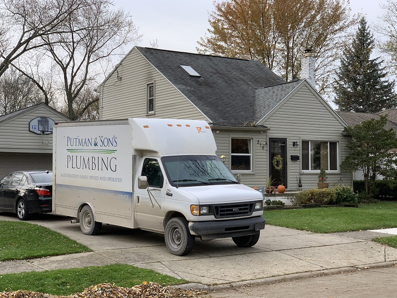 Putman and Sons Plumbing Royal Oak Michigan