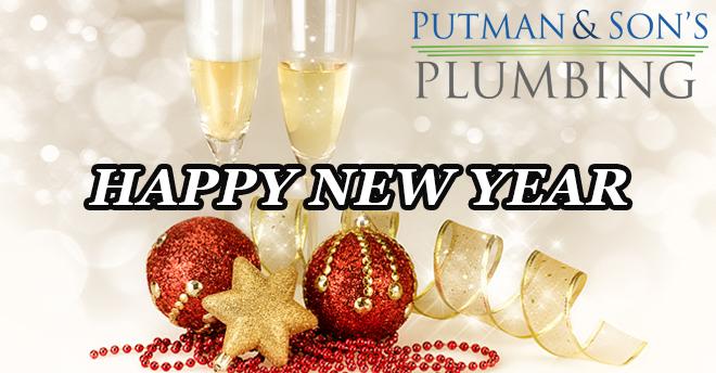 Putman & Son's Plumbing Happy New Year