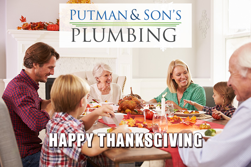 Putman & Sons Plumbing Thanksgiving 2019